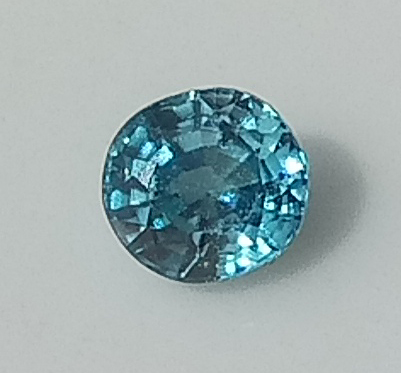 0.61 ct. Oval Natural Blue Zircon