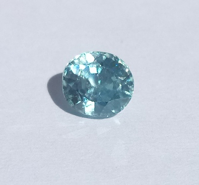 0.70 ct. Oval Natural Blue Zircon