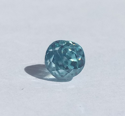 0.83 ct. Oval Natural Blue Zircon