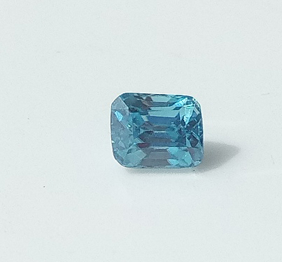 0.92 ct. Octagon Natural Blue Zircon