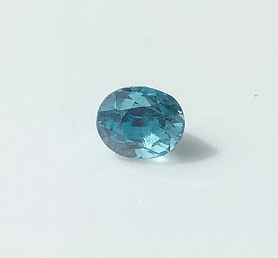 0.93 ct. Oval Natural Blue Zircon