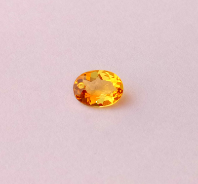 1.02 ct. Citrine Oval