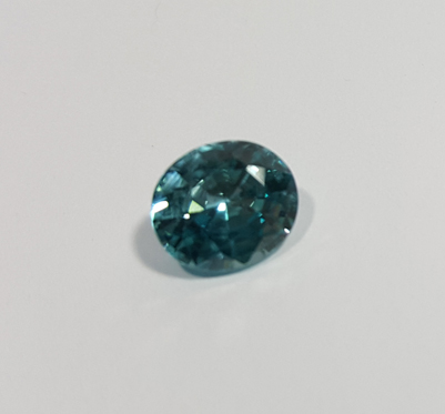 1.95 ct. Oval Natural Blue Zircon