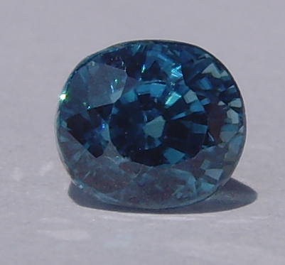 2.25 ct. Oval Natural Blue Zircon