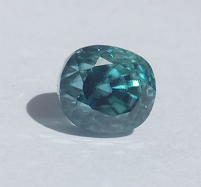 2.81 ct. Oval Natural Blue Zircon