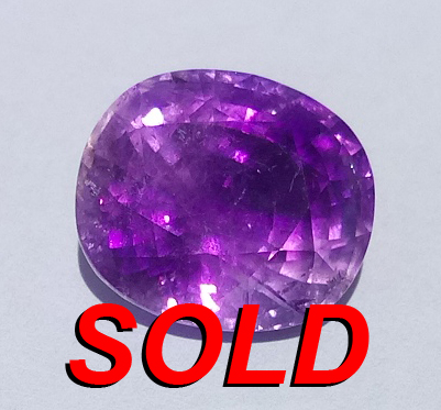 9.65 ct. Amethyst Oval