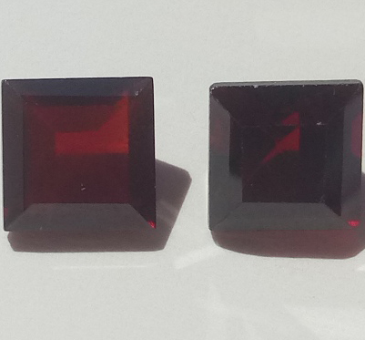 Awaiting Update 4.65 ct. Garnet Octagon 2 stones