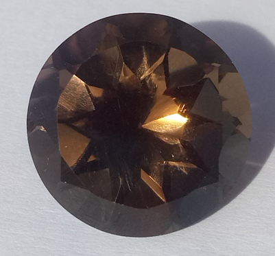 10.81 ct. Smoky Quartz Round