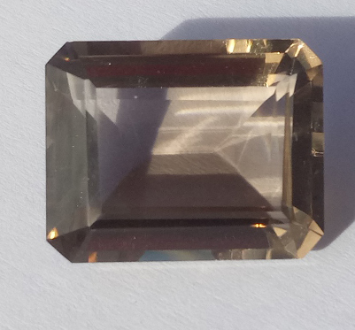 19.69 ct. Smoky Quartz Octagon