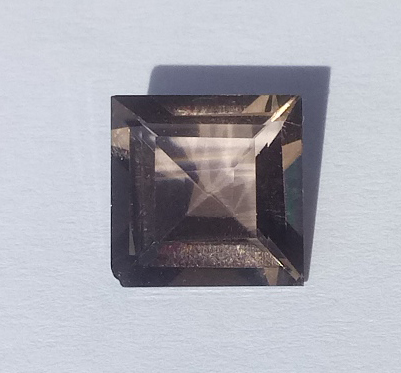 3.96 ct. Smoky Quartz Octagon