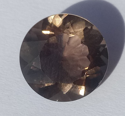 4.31 ct. Smoky Quartz Round